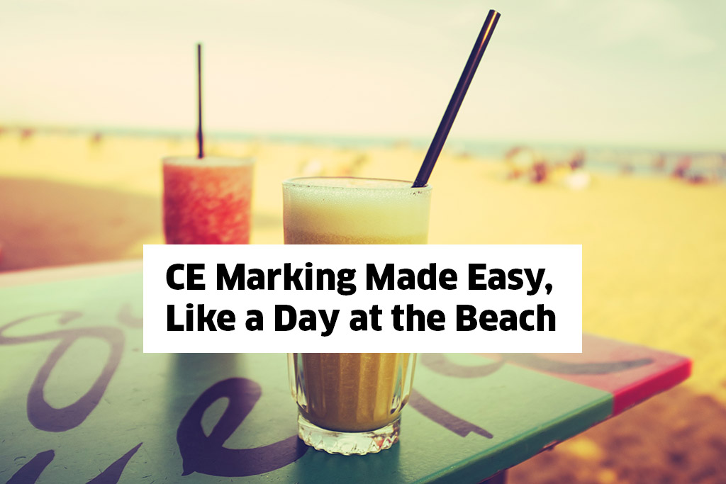 Beitragsbild Website mdi Europa - CE Marking Made Easy Like a Day at the Beach. Kernfraktur 2020.